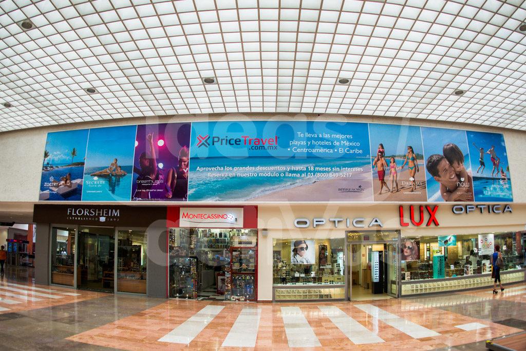 cenefas publicitarias travel