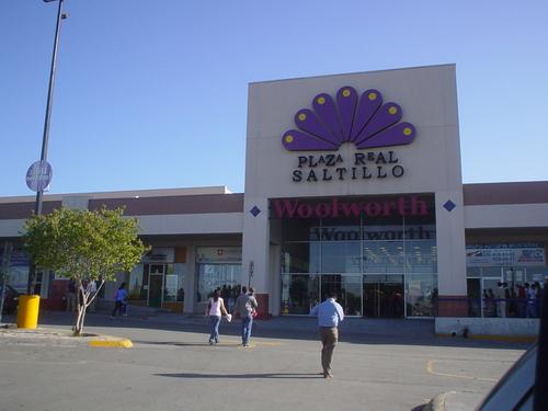 Publicidad en Plaza Real Saltillo