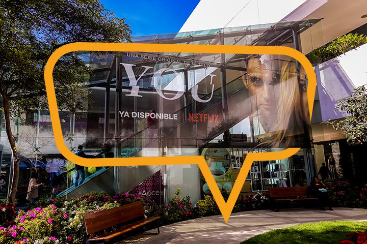 Publicidad en Plaza Andares, Vitral Panorámico