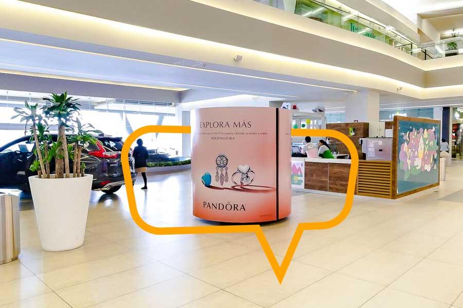 Publicidad en Banner de piso