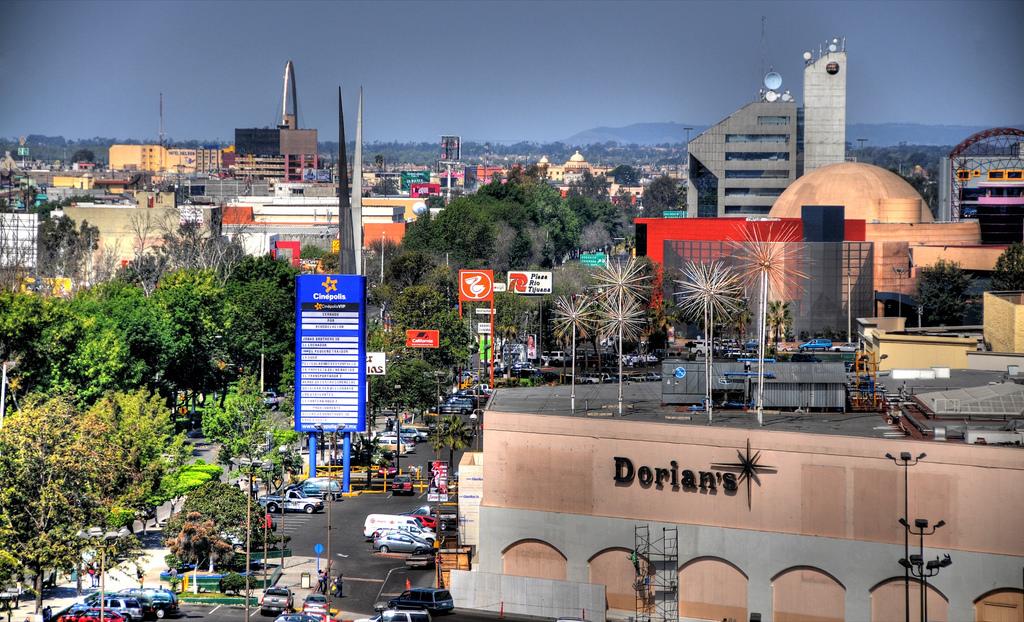 Publicidad en Plaza Río