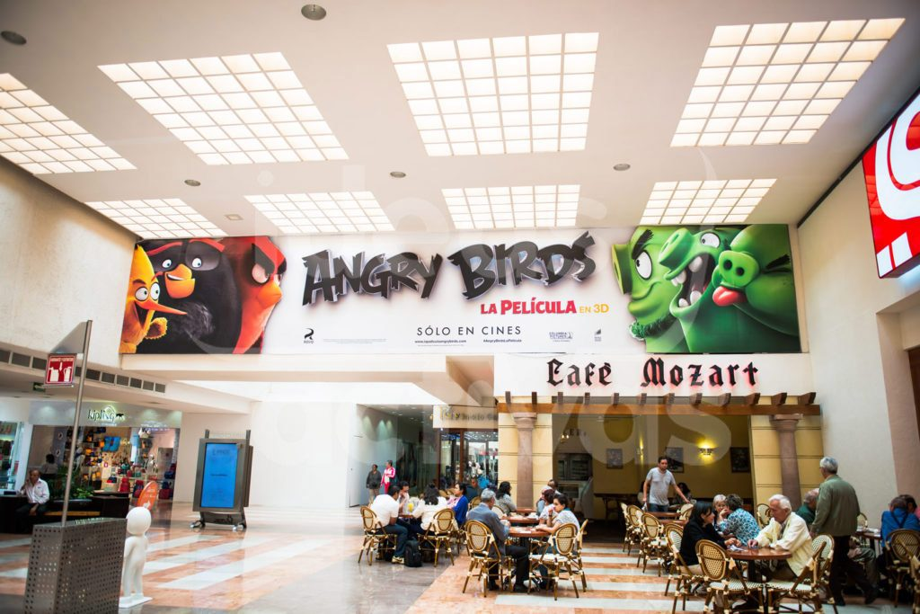 Cenefas publicitarias en México